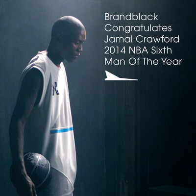 BRANDBLACK Congratulates Jamal Crawford on his 2014 NBA Sixth Man Of The Year Award!