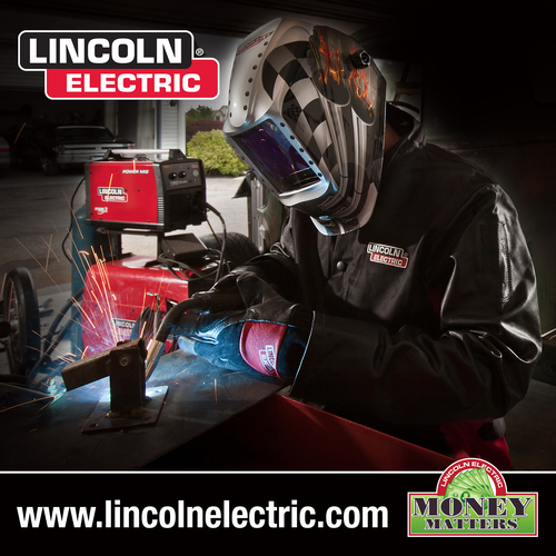 Lincoln Electric Extends and Expands Successful Money Matters™ Welding Rebate Program