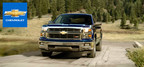 A valuable combination of efficiency and power earned Silverado the title of 2014 North American Truck of the Year. (PRNewsFoto/Emerson Chevrolet Buick)