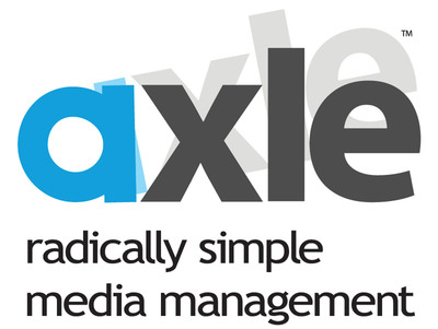 axle Video offers radically simple media management solutions.  Faced with ever-growing amounts of video and other rich media, content producers are struggling to find ways to search, review and collaborate around the media they have.  (PRNewsFoto/axle Video, LLC)