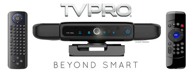 Introducing the TVPRO, the world's first interactive media player with a Full 1080p HD webcam. The TVPRO makes any TV Beyond Smart bringing the functionality or your smartphone and tablet to the big screen. Available now on Kickstarter.