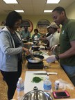 Wounded Warrior Project hosted an informative nutrition class for a group of wounded veterans, their caregivers, and family members.
