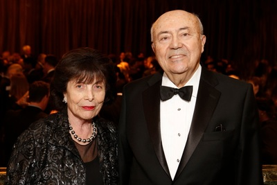 USC Trustee Andrew Viterbi Ph.D. '62 and his wife Erna, benefactors of the USC Viterbi School of Engineering and of the USC Shoah Foundation. (PRNewsFoto/USC)