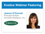 Webinar to Explore the Challenge of Unifying Data across Channels.  (PRNewsFoto/Knotice)