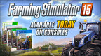 After selling more than a million copies on PC, Focus Home Interactive and Giants Software bring Farming Simulator 15 to gaming consoles today. The companies celebrate the launch with a brand new video that shows all the fun you'll have building your virtual farm - with friends or solo!