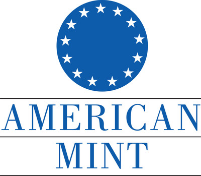 American Mint logo, Mechanicsburg, Pennsylvania.  (PRNewsFoto/American Mint, Kitty Haupt)