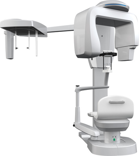 The NEW Prexion 3D Eclipse Multi-Modality Dental Cone Beam CT Scanner including dedicated 2D True Panorex and optional Cephalometric modes.  (PRNewsFoto/Prexion, Inc.)