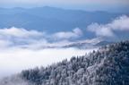 Winter in the Smokies.  (PRNewsFoto/Reserve Direct)