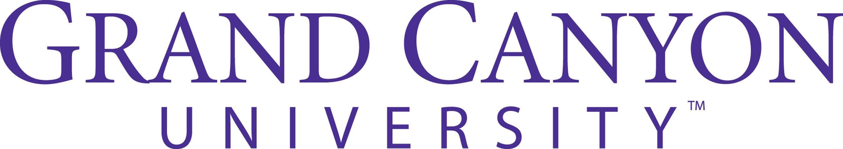 Grand Canyon University logo.