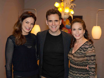 Actors Michelle Monoghan, Matt Dillon, and Diane Lane at the 15th annual Savannah Film Festival on Nov. 1.