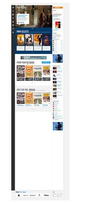 SnagFilms Home Page.  (PRNewsFoto/SnagFilms)