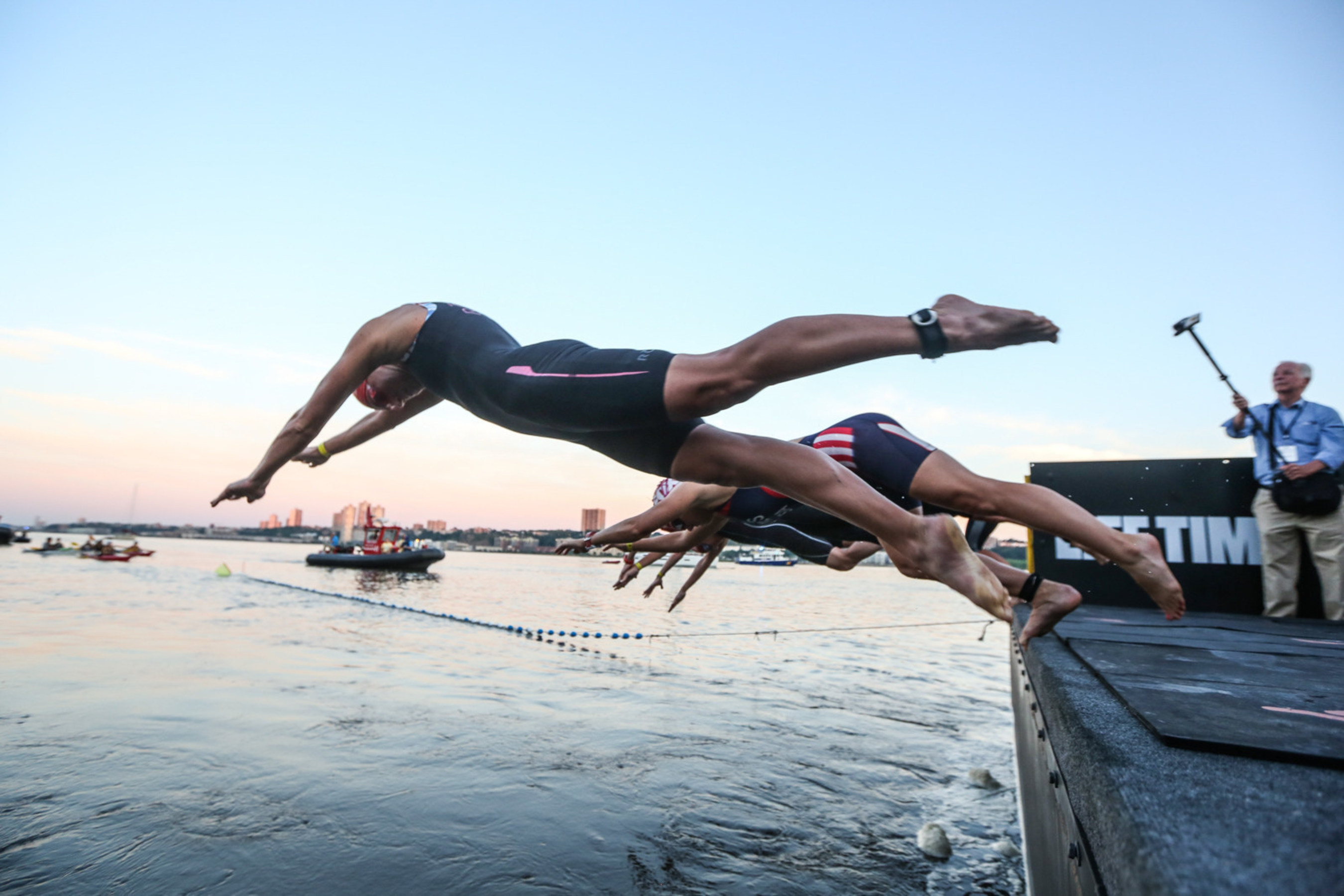 Photo Credit: Tom Olesnevich for the Panasonic NYC Triathlon.