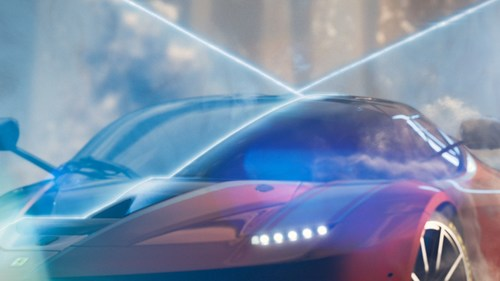 Movie MP-05 LaFerrari Sapphire - A tribute to the FXX K-Screen2 (PRNewsFoto/Hublot SA)