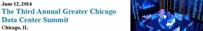 FORSYTHE DATA CENTERS, COMPASS DATACENTERS, CARTER VALIDUS, SERVERCENTRAL & MORE; JOIN 400+ ON JUNE 12 FOR THIRD ANNUAL GREATER CHICAGO DATA CENTER SUMMIT (PRNewsFoto/CAPRATE Events, LLC)
