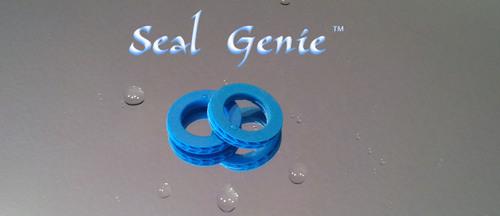 Pair of Seal Genie(TM) garden hose washers.  (PRNewsFoto/Seal Genie, LLC)