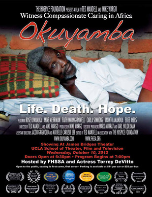 Okuyamba, A Documentary Film Screening about Life, Death and Hope.  (PRNewsFoto/FHSSA)