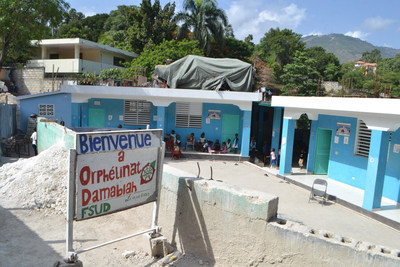 Orphelinat de Fondation Sens Universel et Damabiah (FSUD) is one of three orphanages in Haiti that will benefit from BHG's donation through Food For The Poor's Angels of Hope program.