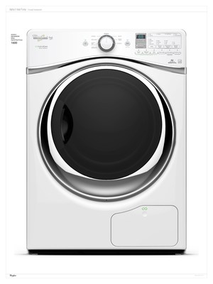 The new Whirlpool(R) HybridCare(TM) clothes dryer with Hybrid Heat Pump technology. (PRNewsFoto/Whirlpool Corporation)