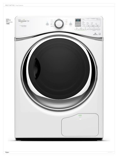 The new Whirlpool(R) HybridCare(TM) clothes dryer with Hybrid Heat Pump technology. (PRNewsFoto/Whirlpool ...