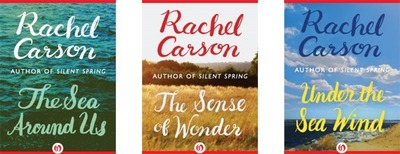 Rachel Carson Book Covers (PRNewsFoto/Open Road Integrated Media)