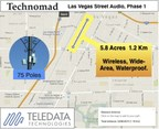 Las Vegas Downtown Wireless Audio Project Covers Over Five Acres On First Street.