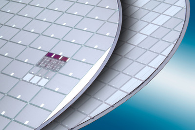 Insulated Gate Bipolar Transistor (IGBT) wafer processed on EVG(r)850TB/DB fully automated bonding/debonding system. (PRNewsFoto/EV Group)