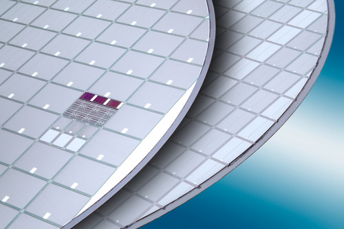 Insulated Gate Bipolar Transistor (IGBT) wafer processed on EVG(r)850TB/DB fully automated bonding/debonding ...