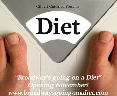 Comedian Gilbert Gottfried Presents 'The Diet Show' on Off-Broadway Starring NBC The Biggest Loser