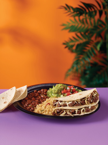 Taco Cabana® Debuts Two New Menu Items: Steak Asadero Tacos And Dessert Flan