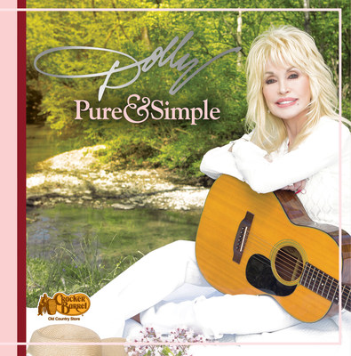 """Dolly Parton's deluxe version of """"Pure & Simple"""" is available exclusively at Cracker Barrel Old Country Stores nationwide and online at crackerbarrel.com."""