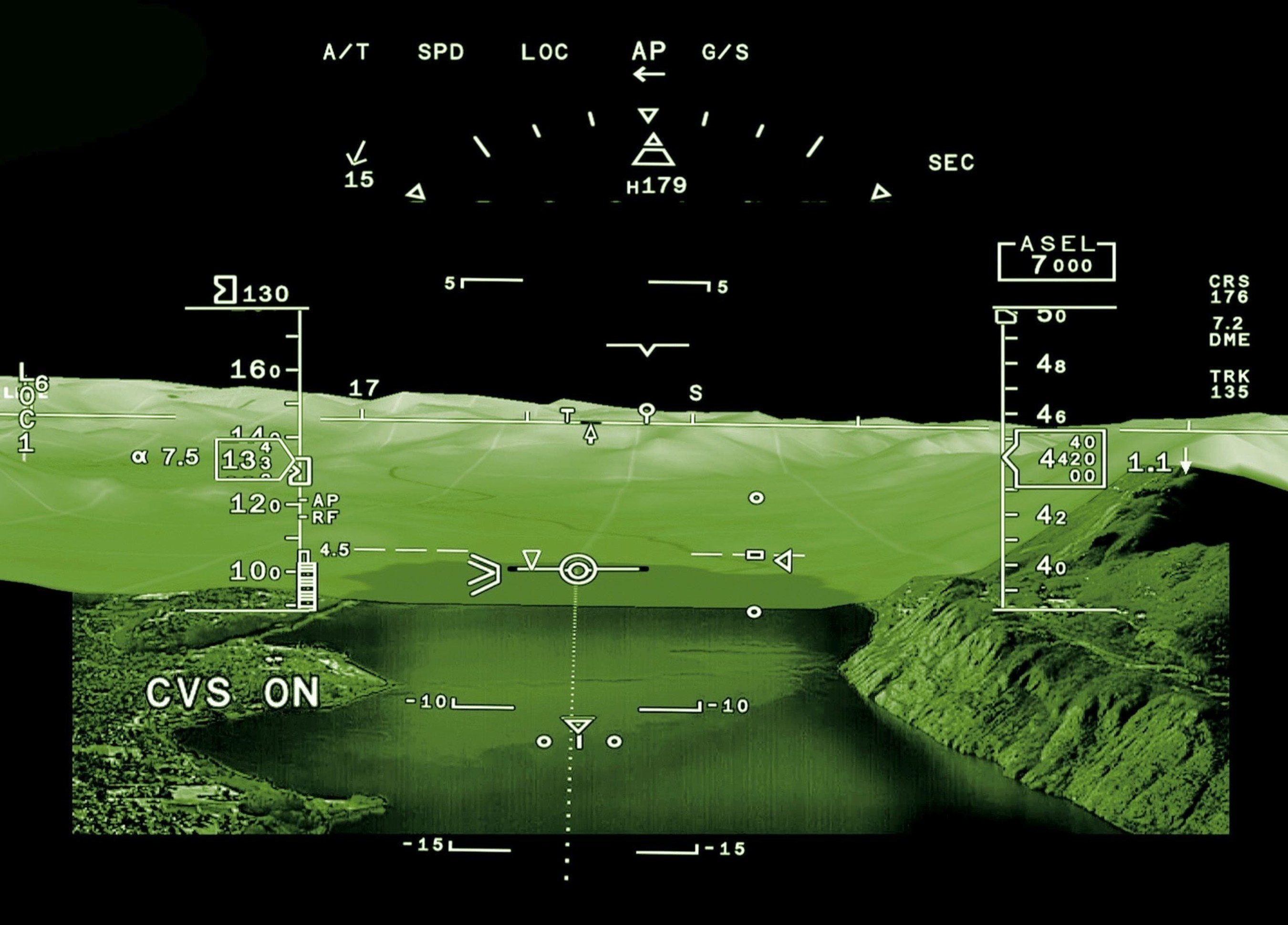 FalconEye is the first Head Up Display (HUD) system to combine synthetic, database-driven terrain mapping and ...