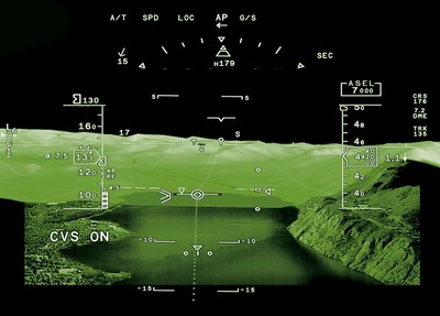 FalconEye is the first Head Up Display (HUD) system to combine synthetic, database-driven terrain mapping and actual thermal and low-light camera images, providing an unprecedented level of situational awareness to flight crews.