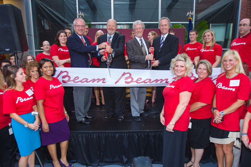 Beam Goes Live On Fourth Street In Downtown Louisville