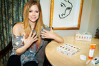 Get Star Power Nails with Avril Lavigne Salon Effects Real Nail Polish Strips from Sally Hansen