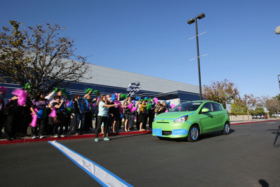 Mitsubishi Motors' Extreme MPG Hypermiling Challenge Achieves an Amazing 74.1 MPG in a 2014 Mitsubishi Mirage