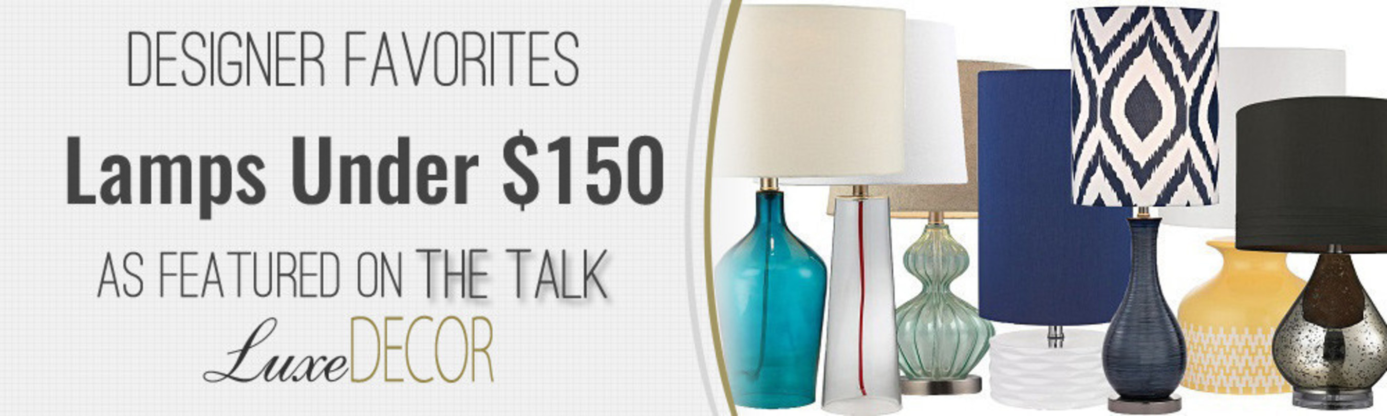 LuxeDecor to be Featured on CBS's The Talk
