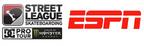 Street League Skateboarding(TM) Announces Multi-Year Broadcast Partnership With ESPN.  (PRNewsFoto/Street League Skateboarding)