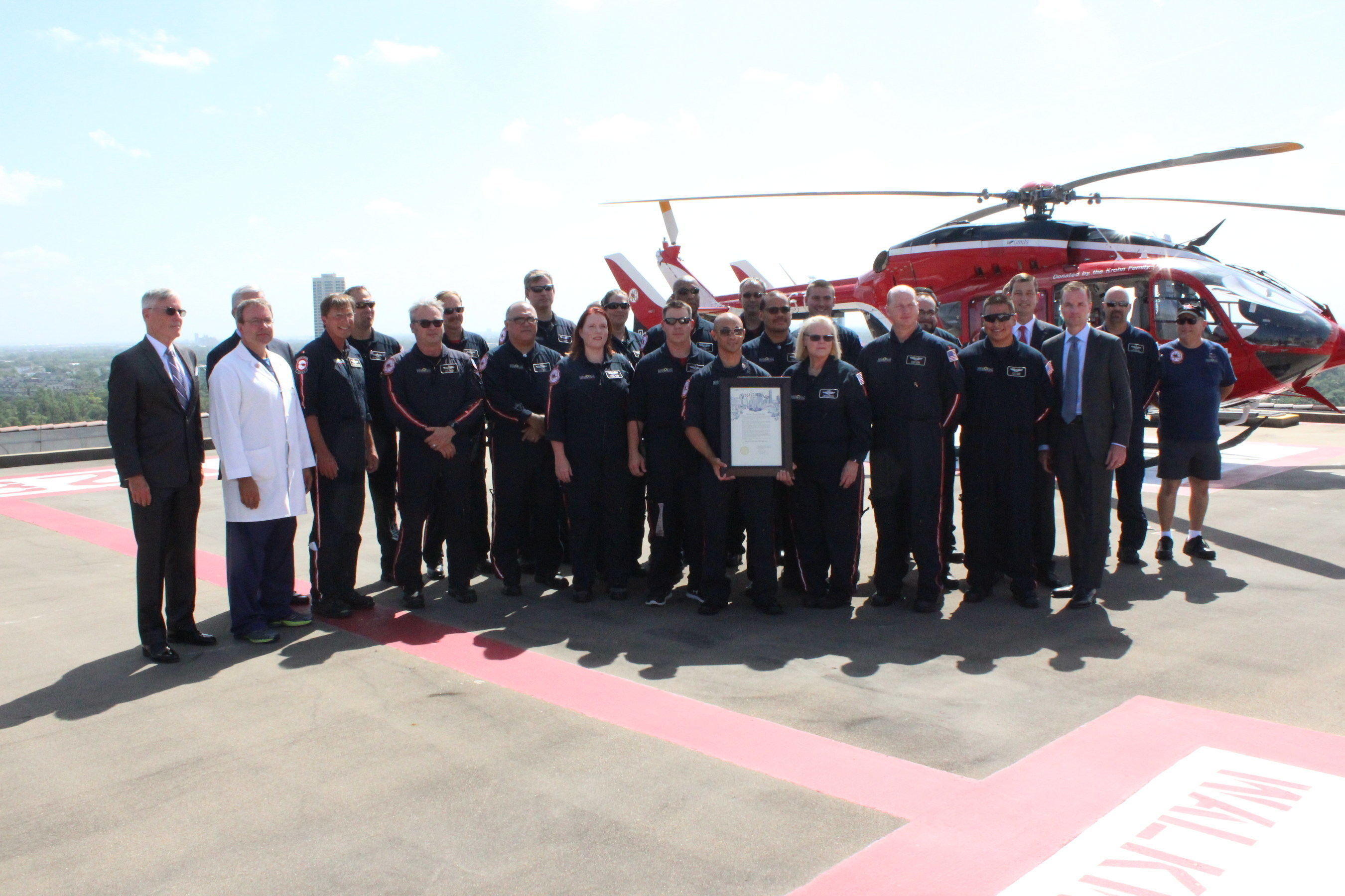 40 Years of Life Flight, 40 Days of Thanks
