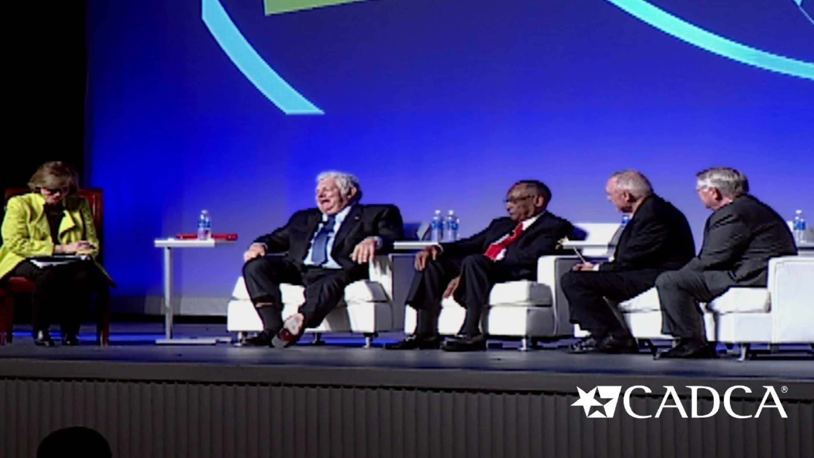 Four former U.S. drug czars took part in a historic dialogue on drug policy in America at CADCA's 25th Annual National Leadership Forum