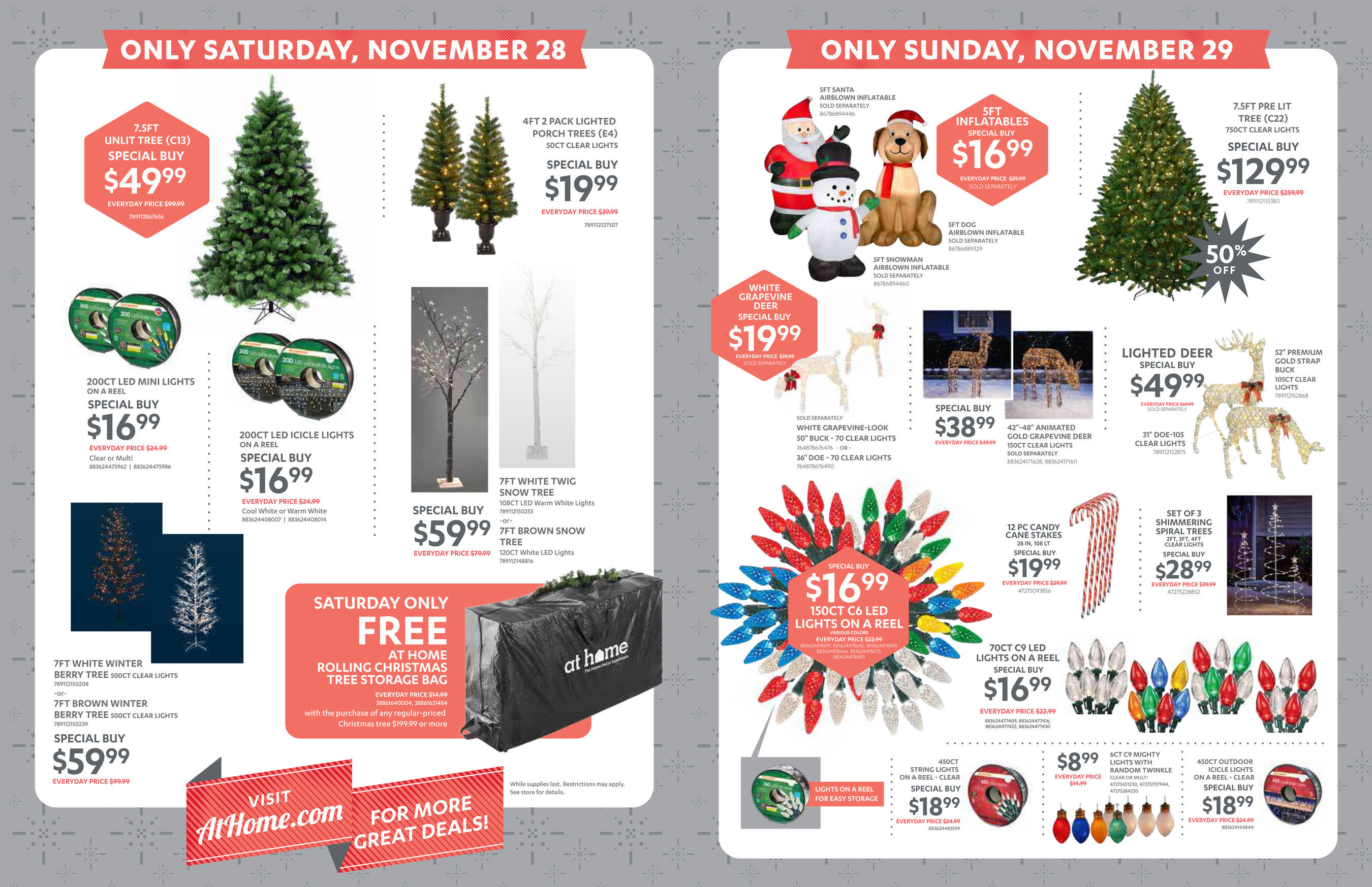 at home black friday special buys available nov 27 nov 29 2015