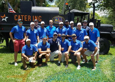 A group of 17 Bankers Healthcare Group employees participated in this year's Special Operations Golf Tournament of South Florida.