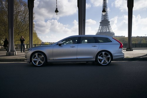 The Volvo Estate is Back. Meet the new V90. (PRNewsFoto/Volvo Car Group)