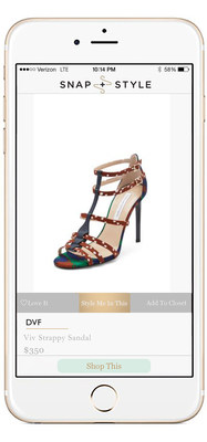 Style Me - Snap or choose an item you love to send to your stylist