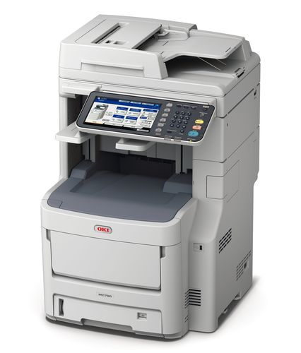 OKI Europe Ltd has launched its new range of A4 colour MFPs, the MC700 Series