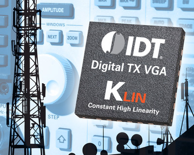 IDT Introduces New Constant Linearity Technology with Launch of Latest RF Digital VGA