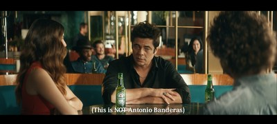 "Benecio Del Toro stars in the first spot, ""Famous"" for Heineken's new ""There's More Behind the Star"" campaign."