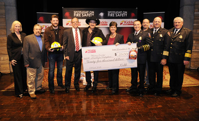 "Kidde Fire Safety teamed up with the Phoenix Society for Burn Survivors to expand the organization's SOAR (Survivors Offering Assistance in Recovery) program for firefighters. The announcement was made the morning of ""The 48th Annual CMA Awards"", with support of Country Music stars and Kidde spokemen, Chris Young and Kix Brooks, national fire service leaders and California firefighter and burn survivor, Luis Nevarez."
