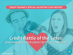 Leading consumer credit and personal finance company Credit Sesame reports that men lead women in overall credit scores - even though they have more debt.