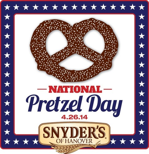Snyder's of Hanover Invites Consumers to Join the National Pretzel Day Celebration (PRNewsFoto/Snyder's of Hanover)