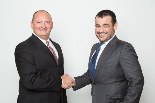 Tom Gordon and Omar Alghanim (PRNewsFoto/Alghanim Industries)